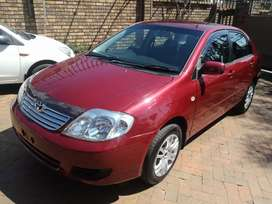 2007 Toyota corolla 1.6 manual immaculate condition for sale