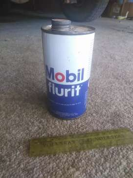 Mobil, old oil can