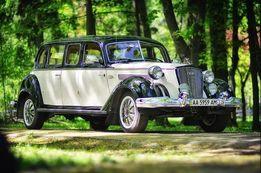 Прокат ретро автомобилей на свадьбу, ретро машины для свадьбы, съемок