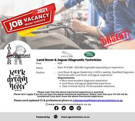 Land Rover & Jaguar Diagnostic Technician - KZN
