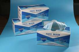 3 PLY DISPOSABLE EAR LOOP SURGICAL MASK