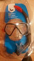Maska do pływania z rulka okazja