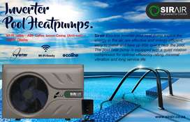 Sirair 7kw Inverter Pool Heat-pump Up to 28000 Litres – Ecoline!