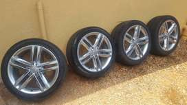 OEM Audi S4 Rims and Tyres