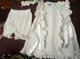 Сукня (комплект) для дівчинки набор платье