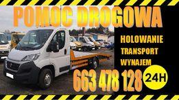 Autolaweta Pomoc Drogowa 24h Wrocław Trzebnica A4 S5 S8 Wynajem 250zł