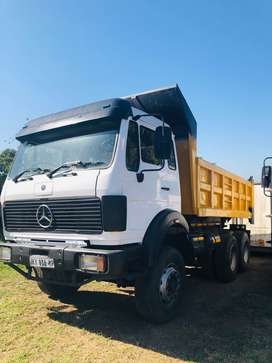 1992 Mercedes Benz 2637 powerliner tipper