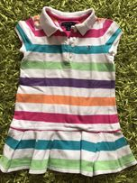 Tommy Hilfiger sukienka polo kolorowa w paski rozm. 3T 2-3 lata