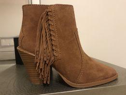Модные брендовые ботинки COACH 37,5-38