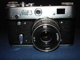 Фотоаппарат ФЭД-3 с объективом Индустар-61