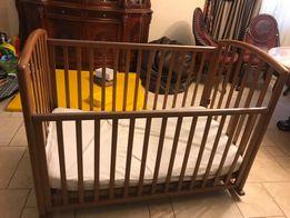 Кроватка детская PALI+ Натуральный кокосовый матрац+Пуховое одеяло