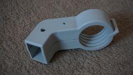 Uchwyt plastik obejma konwertera na prostokąt do czasz Corab