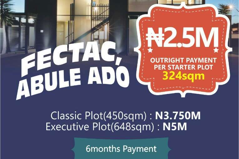Plots of land at FESTAC ABULE- 0