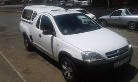 2007 opel corsa bakkie 1.4 manual with canopy