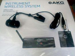 радіосистема AKG wms40 mini для саксофона, скрипки+ мікрофон