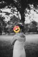 Suknia ślubna,boho,prosta
