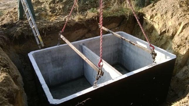 szambo betonowe szczelne zbiornik betonowy na ścieki gnojowicę Włoszczowa - image 2