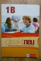 Direkt Neu 1B - podręcznik z ćwiczeniami do j. niemieckiego LektorKlet