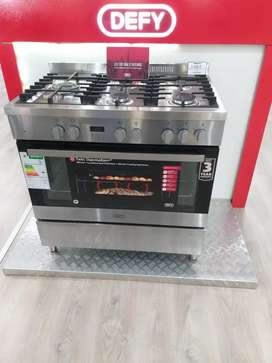 Gas/electric stove