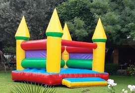 Jumping castle.
