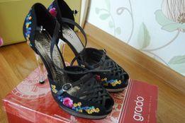 Открытые туфли фирма Grado 38р.(1000 руб)
