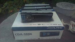 Продам автомагнитолу с процессором Alpine CDA-9886+PXA-H100