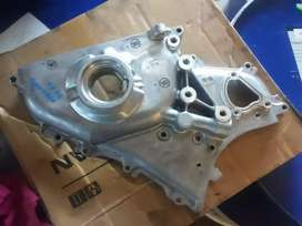 Oil pump and pistons