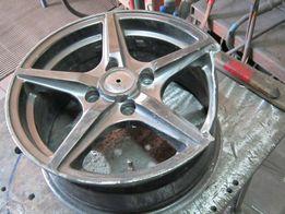 Ремонт автомобильных литых дисков.