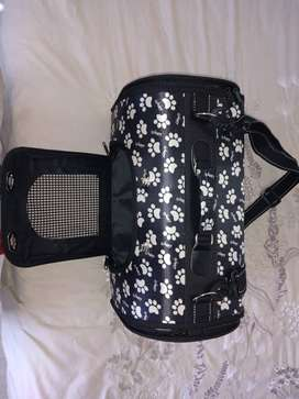 Small dog bed and carrier bag