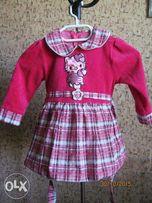 Нарядное платье HELLO KITTI