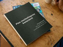 Plan marketingowy kwiaciarni