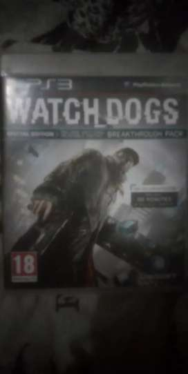 Watch Dogs Playstation 3 game