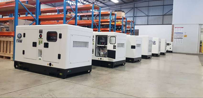 DBZ Diesel Silent generators 5 kva to 1000 kva in stock! 0