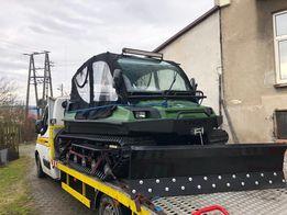 Amfibia Tinger Track S500 Wszędołaz Gąsienice Pług Unimog Ratrak quad