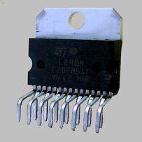 Микросхема L298N Драйвер управления шаговым двигателем