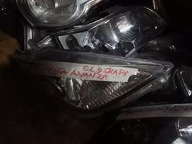 Toyota avanza head light clean