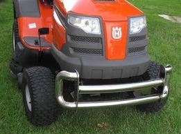Traktorek kosiarka - zderzak ze stali nierdzewnej (chromoniklowy)