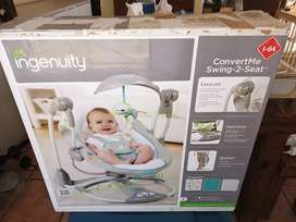 Ingenuity ConvertMe swing to seat