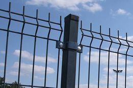 Kompletne ogrodzenie panelowe fi5 123cm /oc+ kolor/ TRANSPORT GRATIS!!