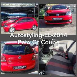 AUTOSTYLING EL -2014 POLO GT 1.6 2DOOR COUPE LIMITED EDITION ON SALE