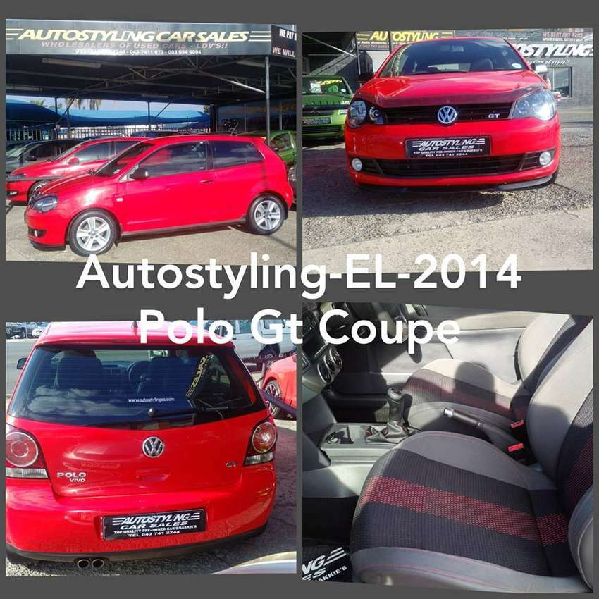 AUTOSTYLING EL -2014 POLO GT 1.6 2DOOR COUPE LIMITED EDITION ON SALE 0