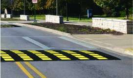 Speed humps  and potholes repair