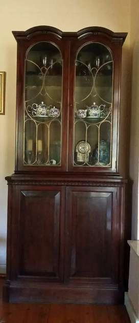 Display Cabinet or Bookcase Antique