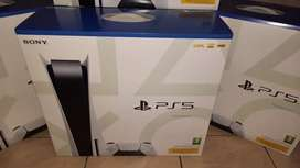 Playstation 5 - Disc Version - Brand New Sealed Units!
