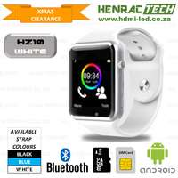 HZ10 (A1) Smart Phone Watches, micro SIM + SD card, COD options for sale  South Africa