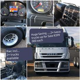 2 × Iveco Trucks for Sale