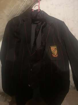 Newton tech M/L blazer and tie