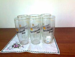 Продам 6 стаканов, чешское стекло