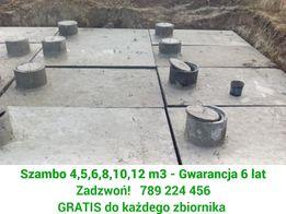 Szamba, Szambo Betonowe, Częstochowa - 4,5,6,8,10,12m3 - tanio, rabaty