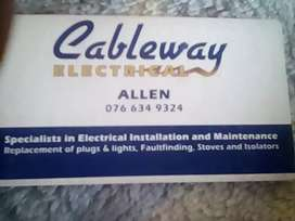 Cablewayelectrical  services